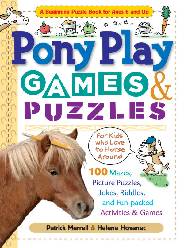Pony Play Games & Puzzles Book