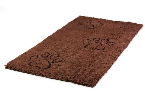Dirty Dog Door Mat Brown Runner