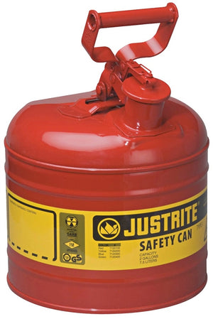 2-Gallon Type 1 Steel Gas Can