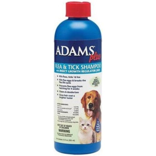 Adams™ Plus Flea & Tick Shampoo 12oz