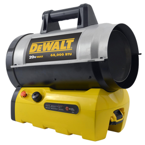 Mr. Heater DeWalt Forced Air Propane Heater 68k 20 Volt Cordless - Bare