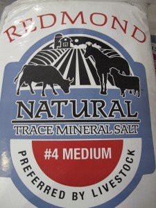 Natural Trace Mineral #4 Medium Salt 50lb