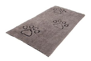 Dirty Dog Door Mat Gray Runner