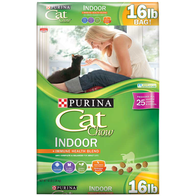 Purina Cat Chow 15lb Indoor Dry Cat Food