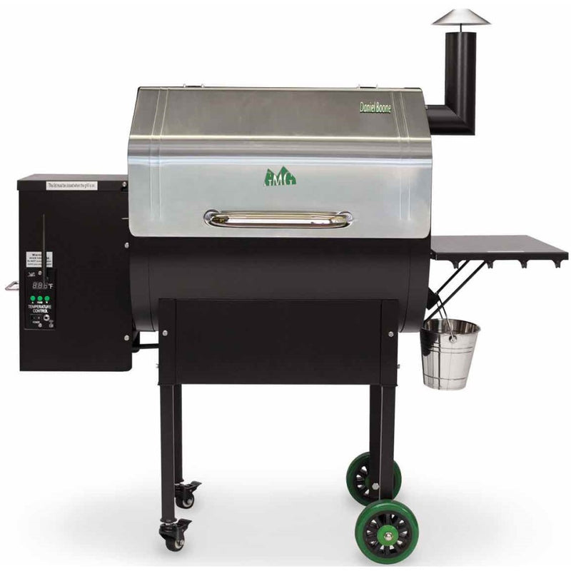 Green Mountain Grills Daniel Boone Grill WiFi Stainless Steel