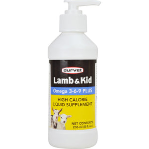 Lamb & Kid Omega 3-6-9 Plus Supplement 8-Ounce