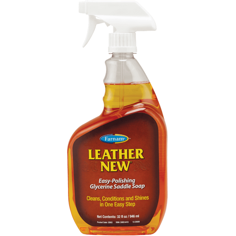 Leather New® Easy-Polishing Glycerine Saddle Soap 32oz