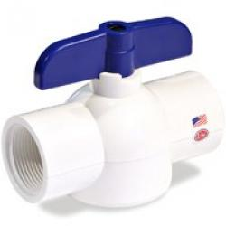3/4in Threaded Pvc Ball Valve