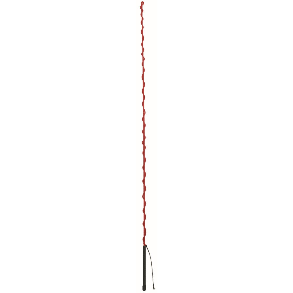 Lunge Whip with Rubber Handle 65-Inch Red