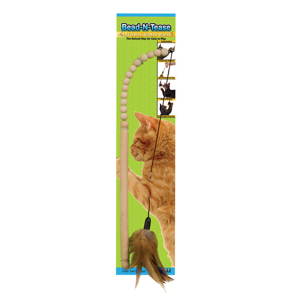 Bead-N-Tease Cat Toy