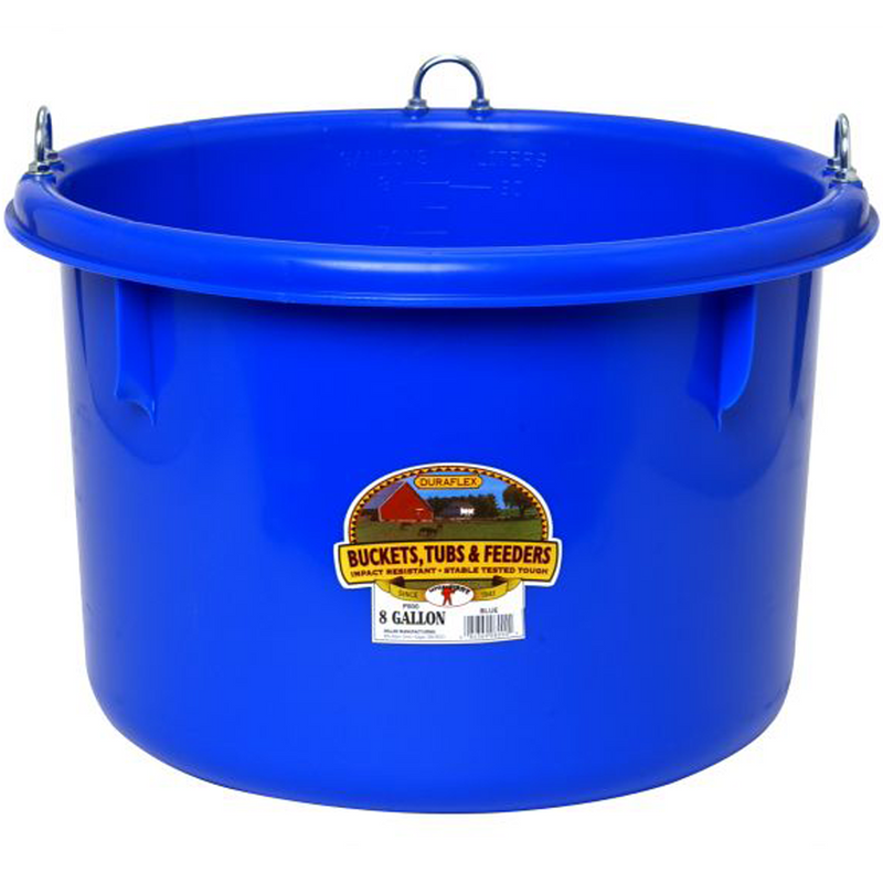 Race Horse Tub 8 Gal Blu