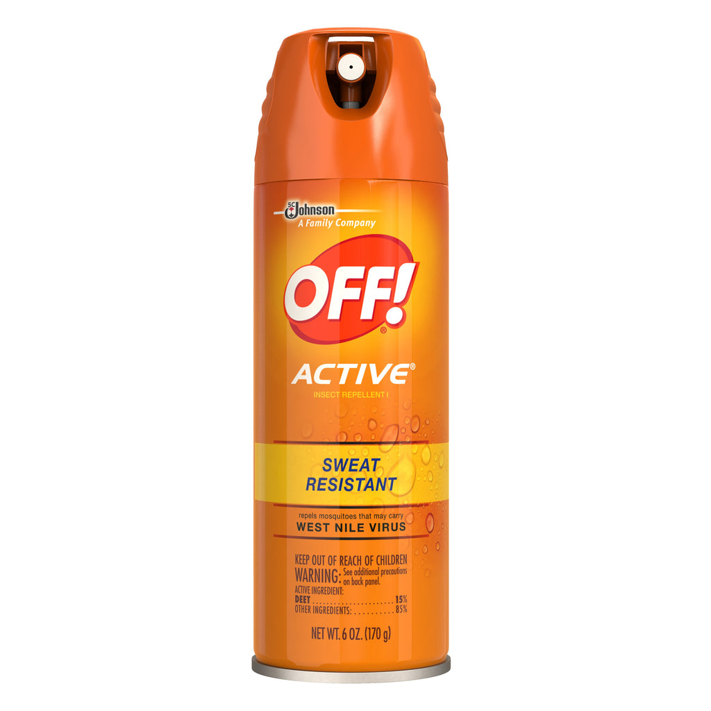 Off Active Bug Repellent 6oz12