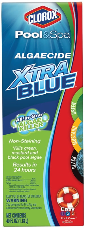 XTRA BLUE ALGAECIDE 40oz