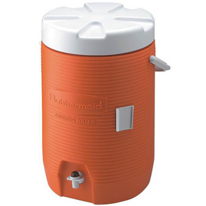 3 Gallon Orange Water Cooler