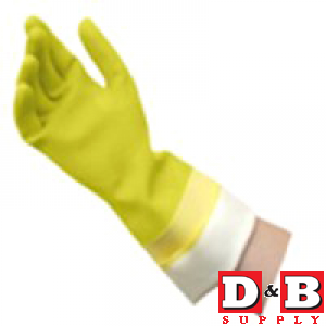 Gloves Latex Lined Med Quickie