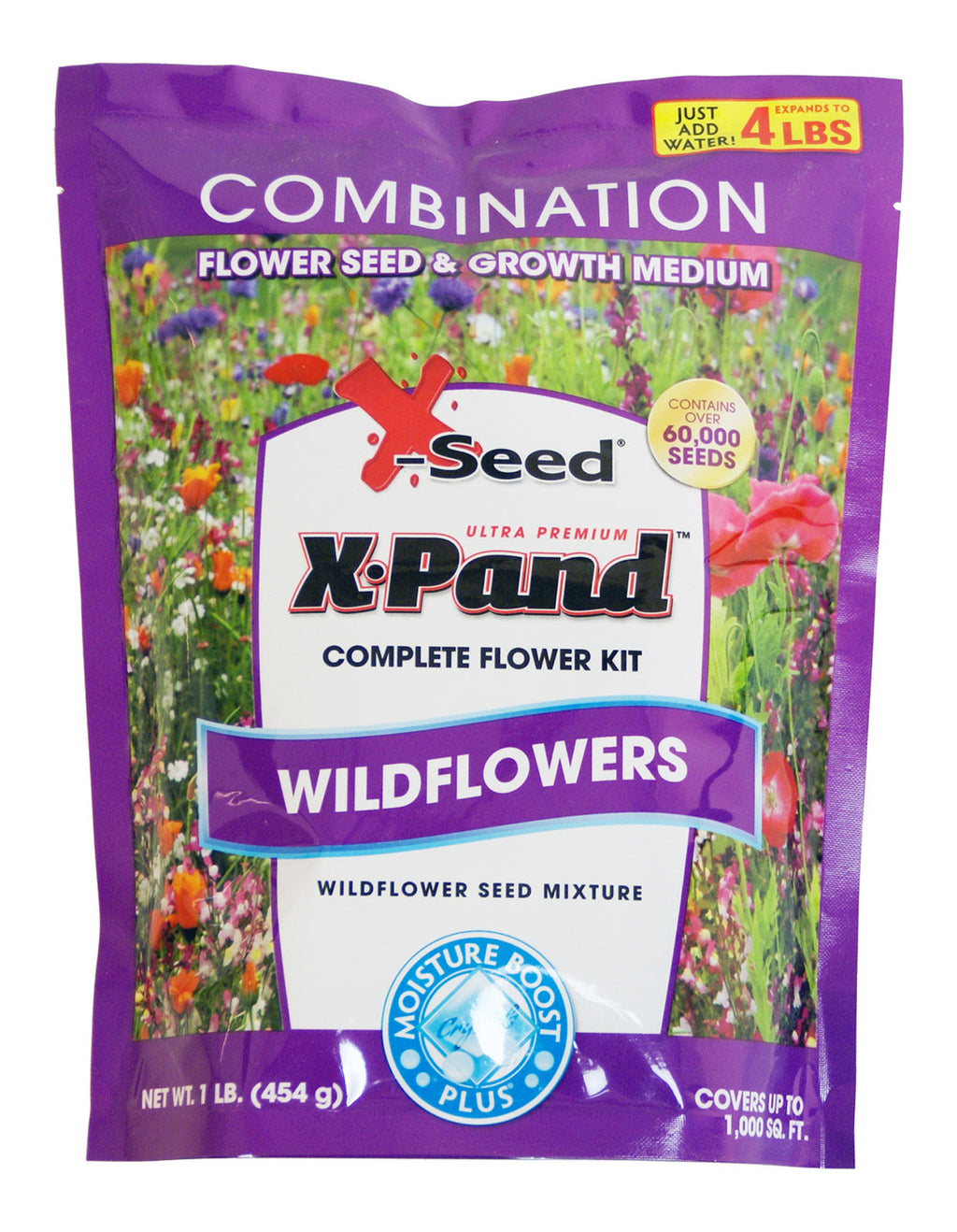 X-Seed Wildflower Instant Flower Kit 1lb