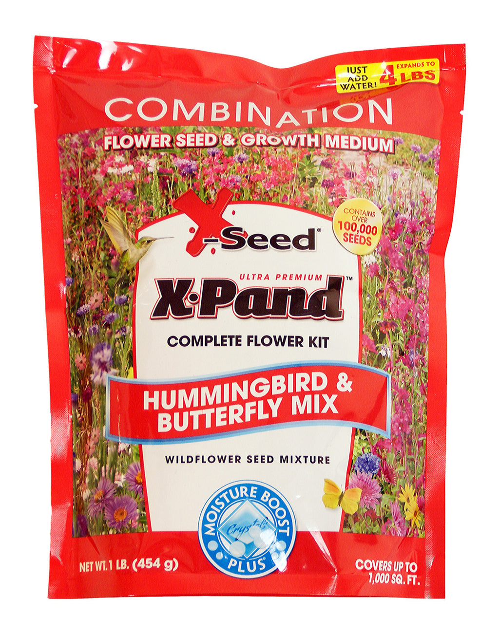X-Seed Hummingbird & Butterfly Complete Flower Kit 1lb