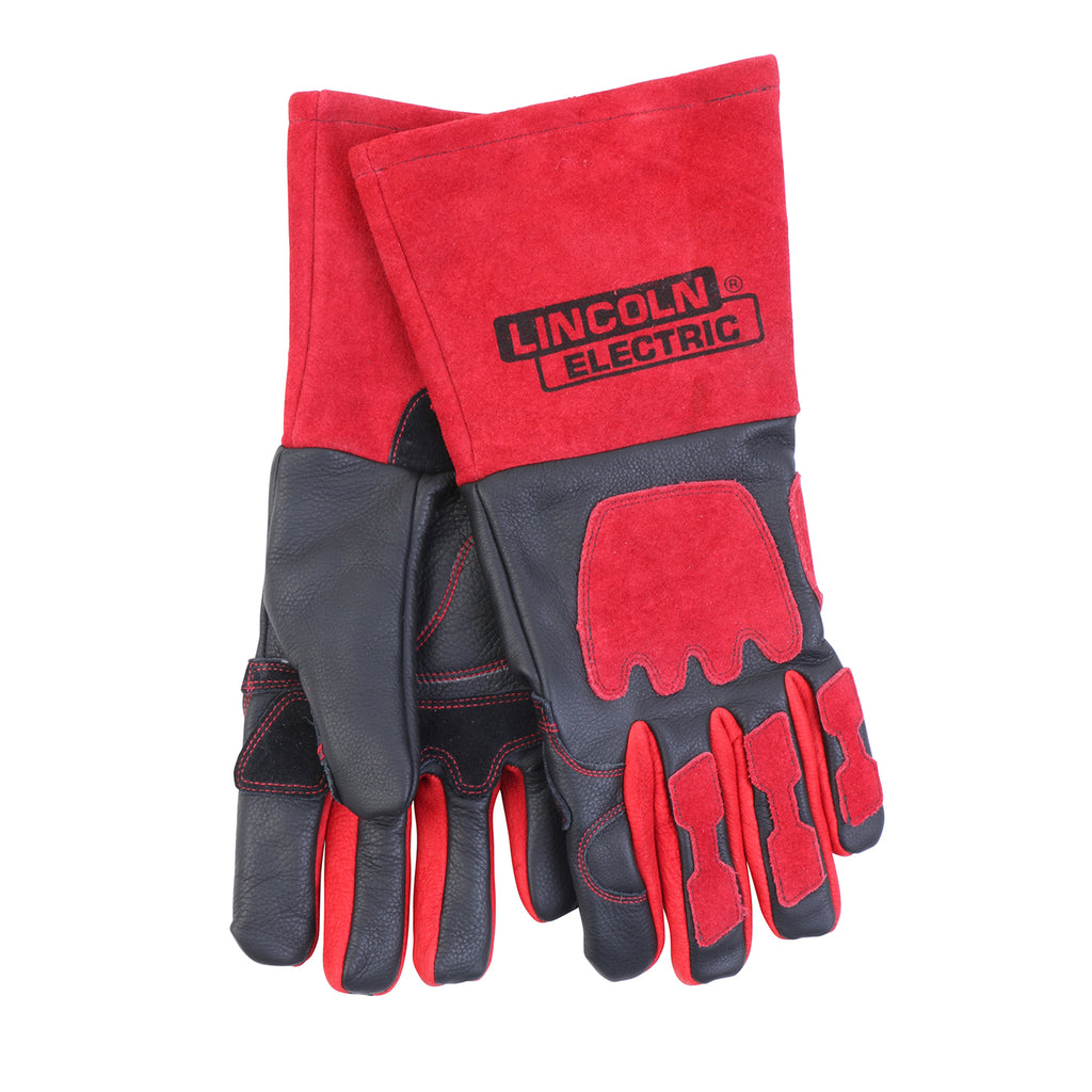 Welding Gloves Premium Red