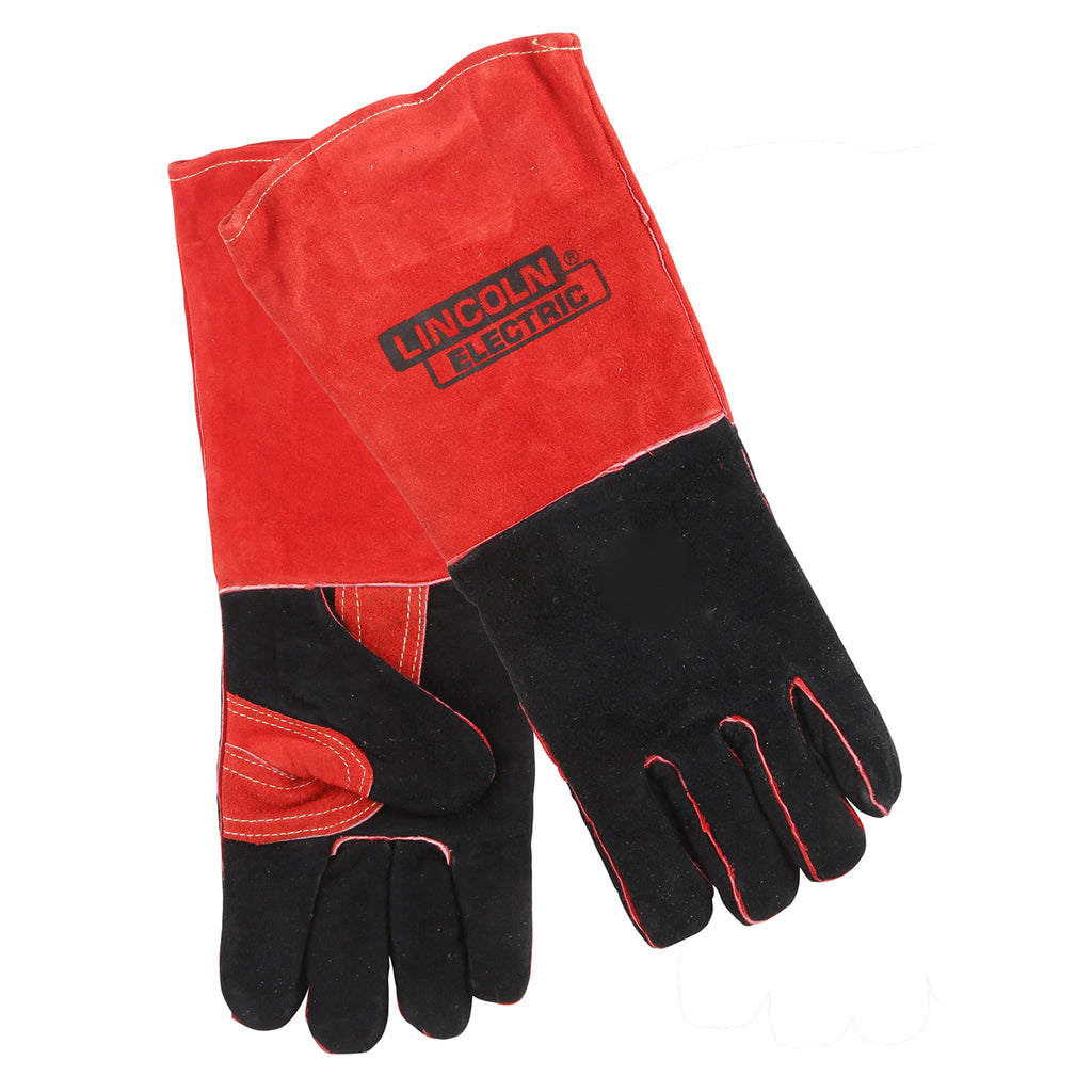 Welding Gloves Red/blk Ind