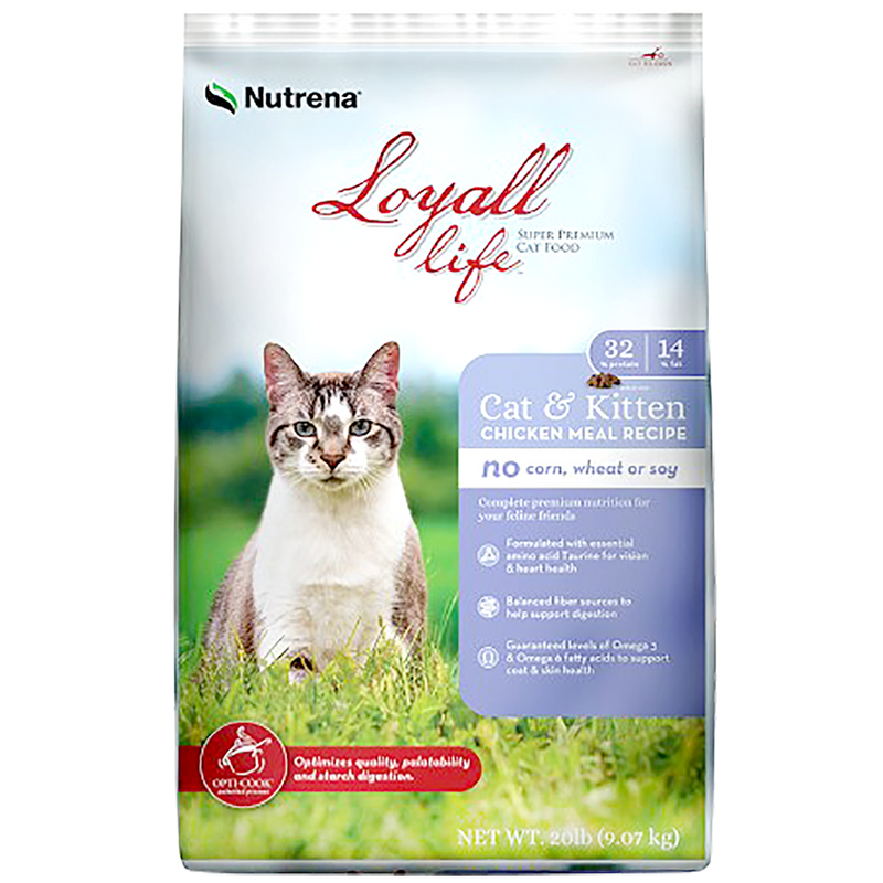 Loyall Life Chicken Cat and Kitten Cat Food 4lb