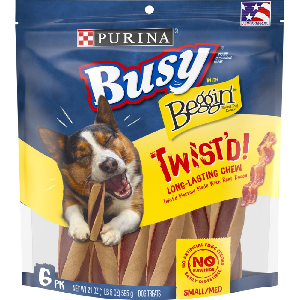 Busy With Beggin 4PK Twistd Chew Treats