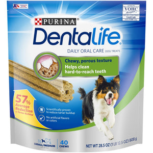 DentaLife 40ct Daily Oral Care Chew Treats