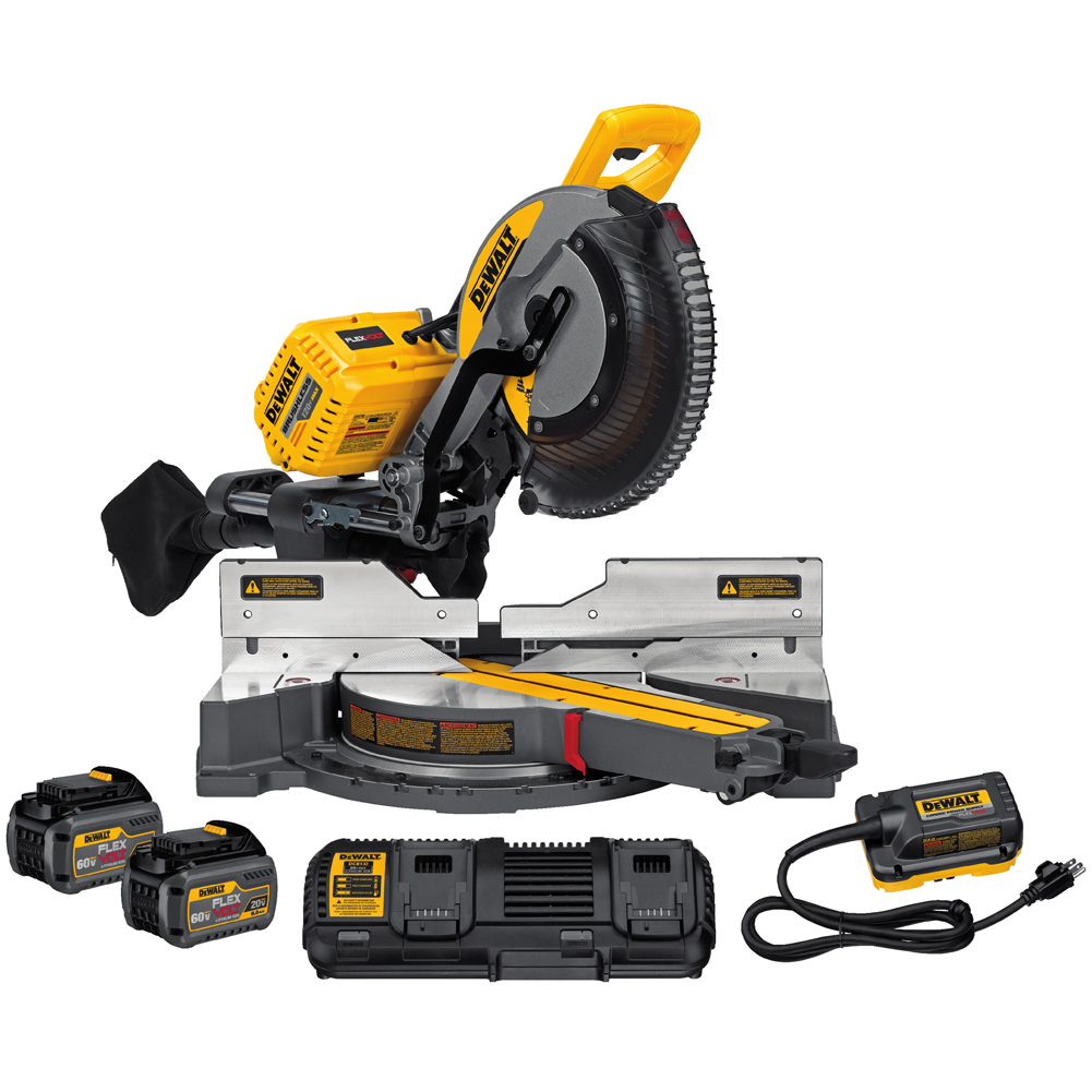 120V Max Flexvolt Sliding Miter Saw Kit