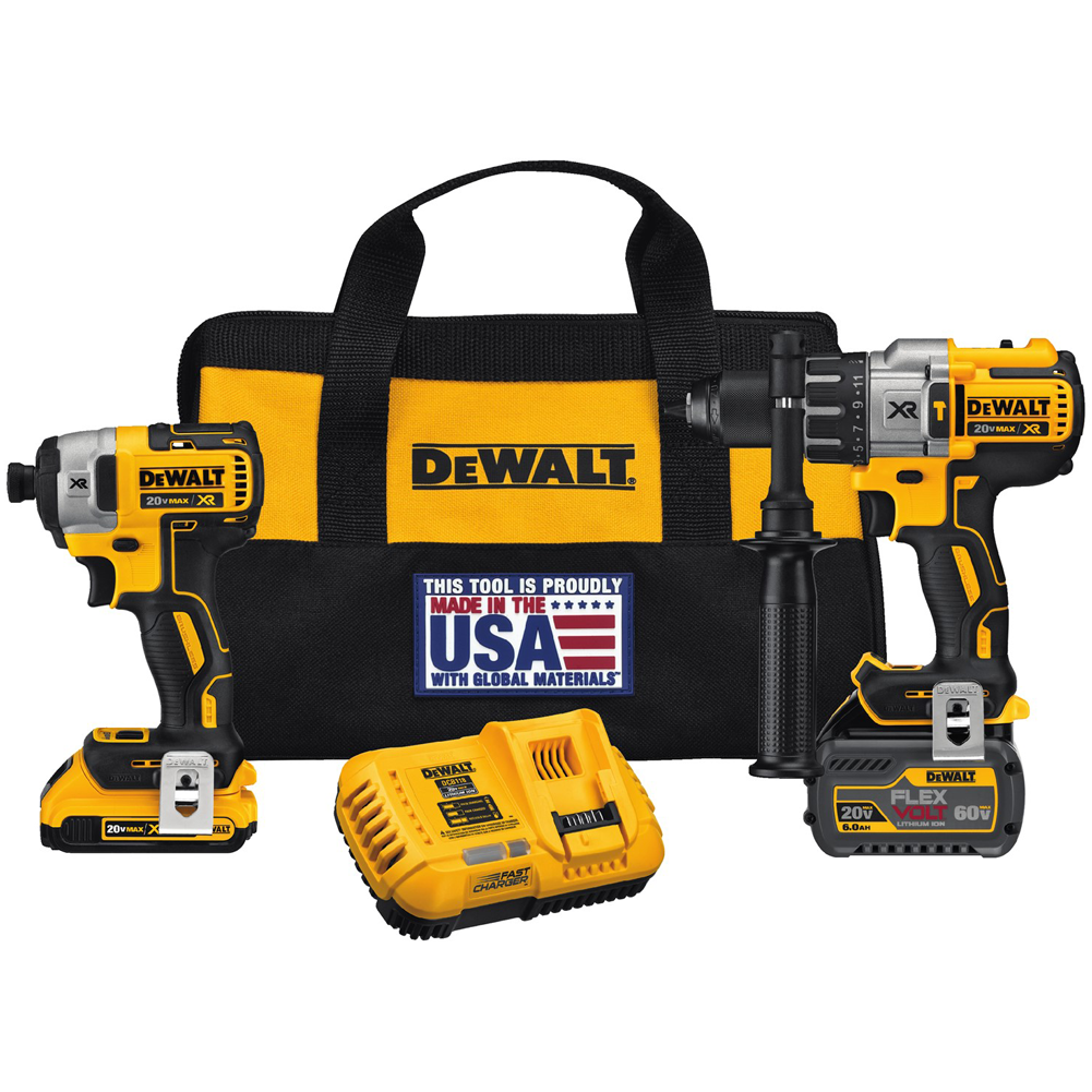 Flexvolt Hammerdrill & Impact Kit