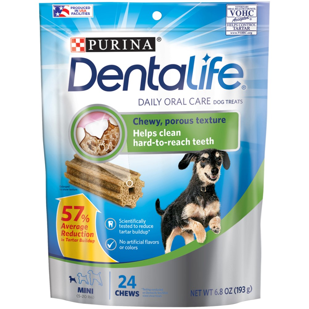 DentaLife 24ct Daily Oral Care Mini Chew Treats