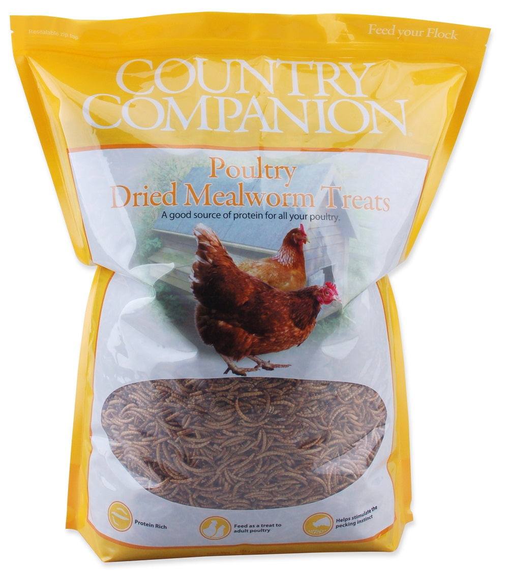 Country Companion Mealworms 5lb
