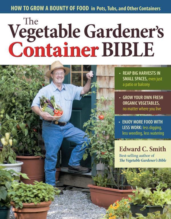 The Vegetable Gardeners Container Bible Book