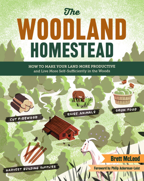 The Woodland Homestead Book