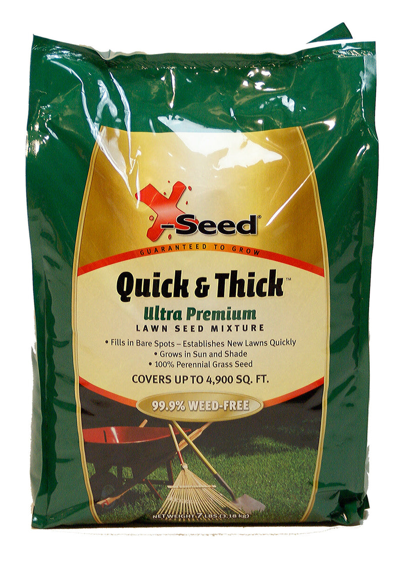 X-seed Quick And Thick 7 Lb