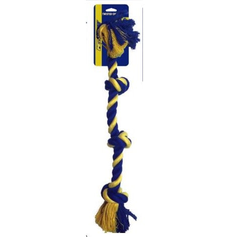 Large 4-Knot Rope Dog Toy 25""