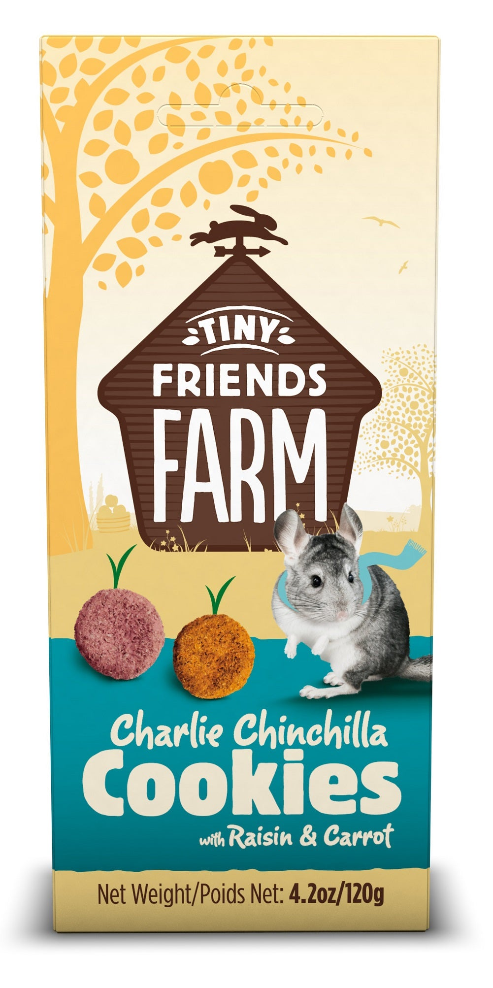Supreme Pet Charlie Chinchilla Cookies Treats 4.2oz