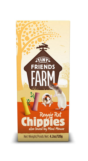 Supreme Pet Reggie Rat & Mimi Mouse Chippies Treats 4.2oz
