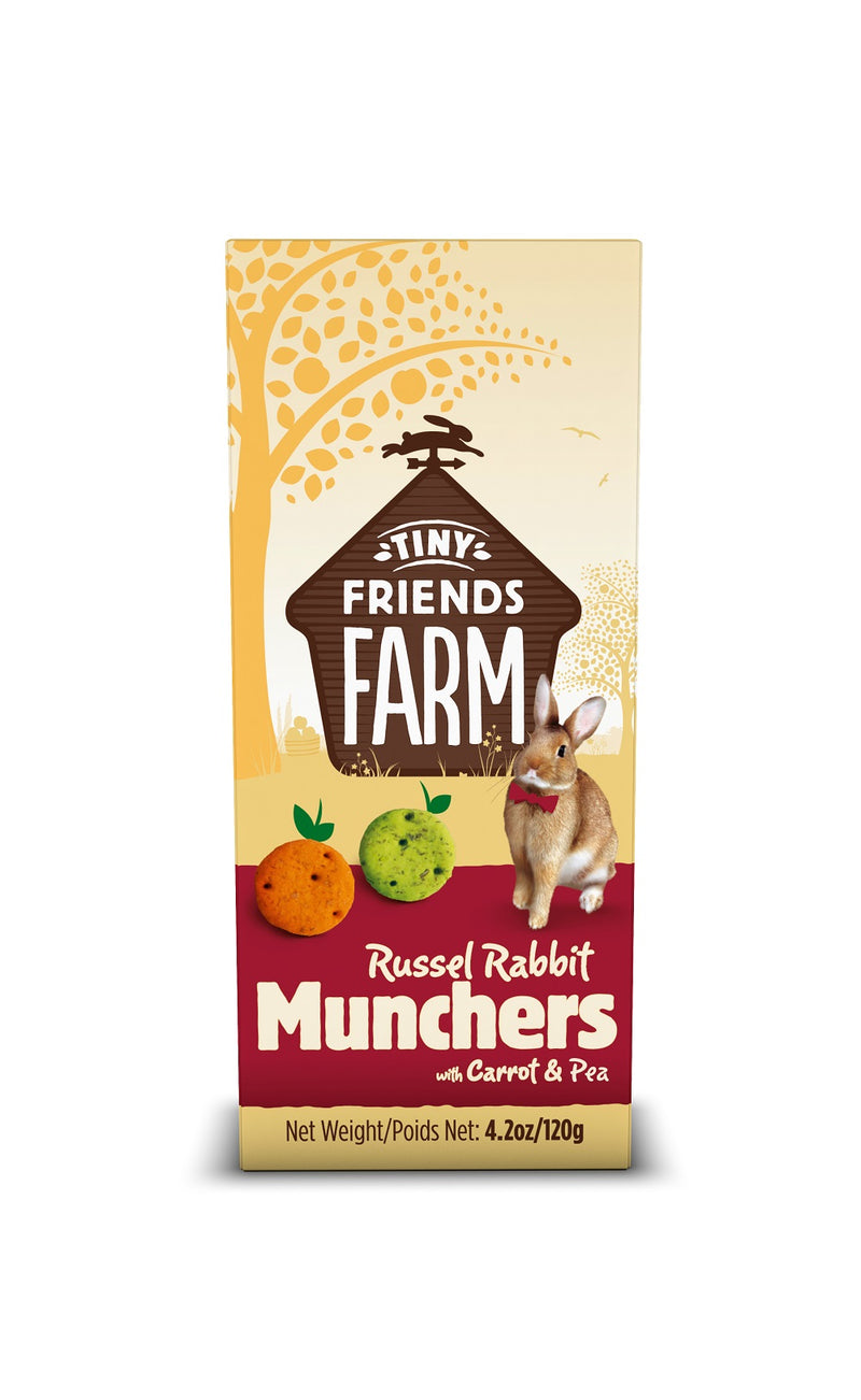 Supreme Pet Russel Rabbit Munchers Treats 4.2oz
