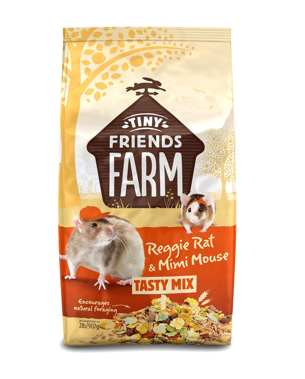 Supreme Pet Reggie Rat & Mimi Mouse Food 2lb