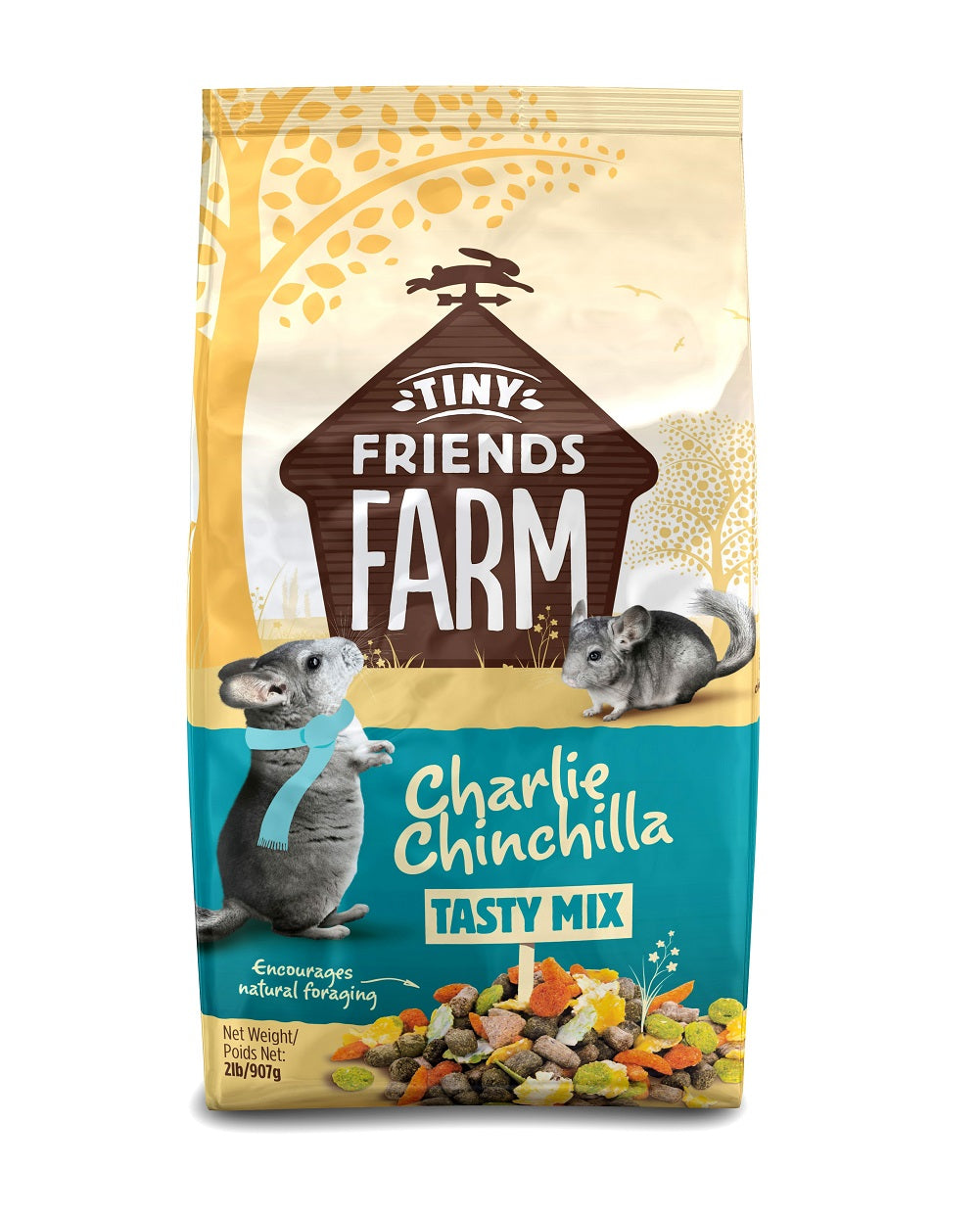 Supreme Pet Charlie Chincilla Food 2lb