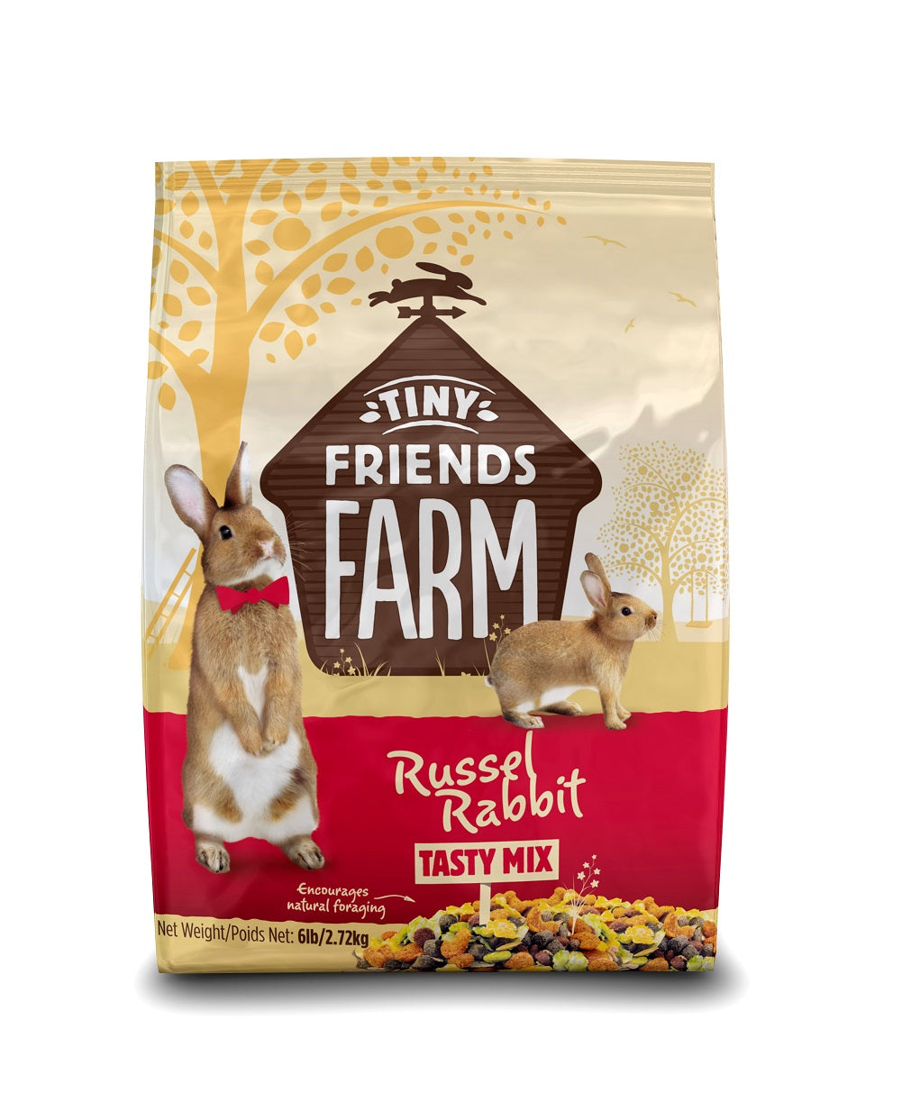 Supreme Pet Russel Rabbit Food 6lb