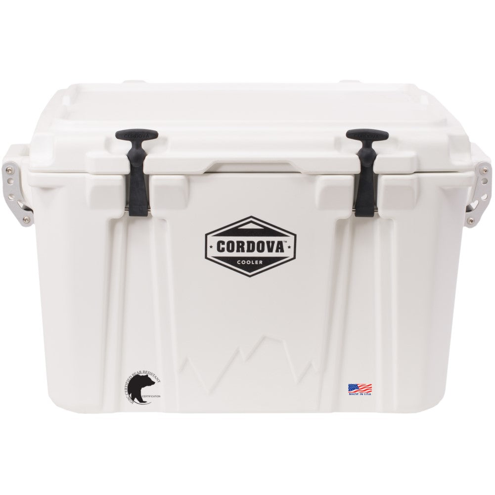 Cordova 50 Medium Cooler White