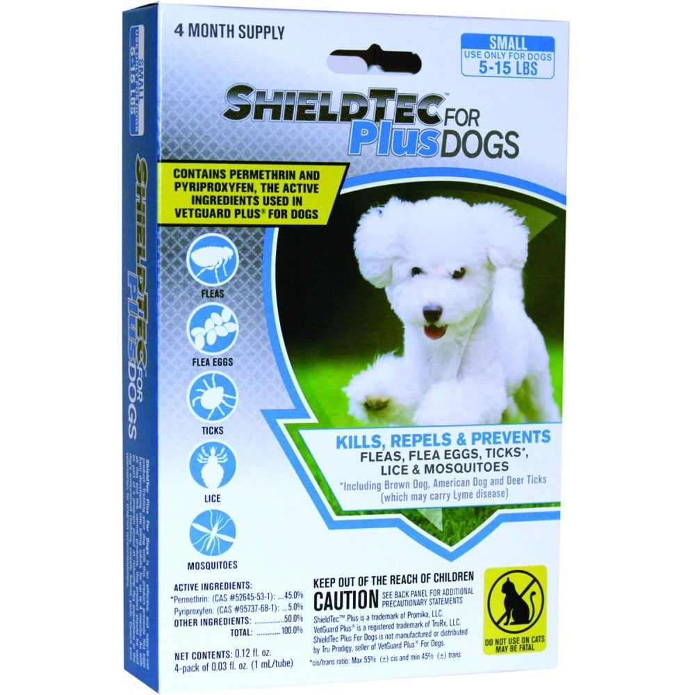 Promika ShieldTec Plus for Dogs 5-15 lbs, 4 Month Supply