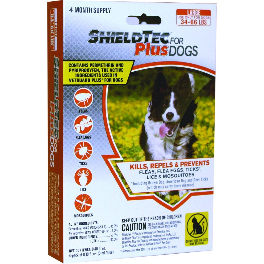 Promika ShieldTec Plus for Dogs 36-44 lbs, 4 Month Supply
