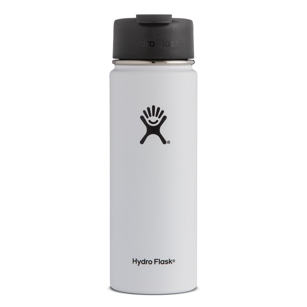 Hydro Flask 16oz Wide Mouth Coffee Flask White