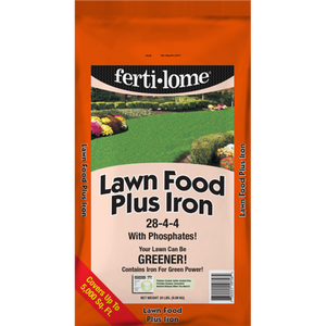 Ferti-Lome Lawn Food Plus Iron 28-4-4 (20lbs.)