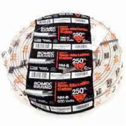 14-2 X 250 Ft Nm Wire W/grnd