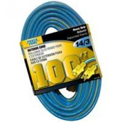 14/3 X 100 Ft Power Cord     3