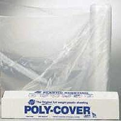 10x100 4 Mil Clear Poly