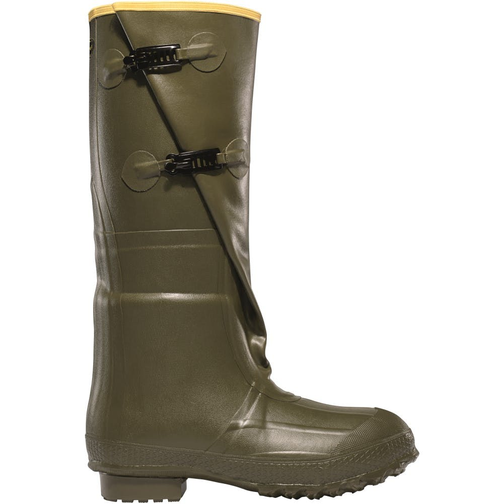 10 Insulated 2-Buckle Boot Green
