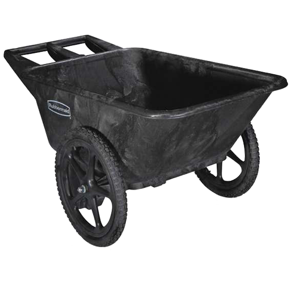 Rubbermaid 7.5 Cu. Ft. Big Wheel Cart